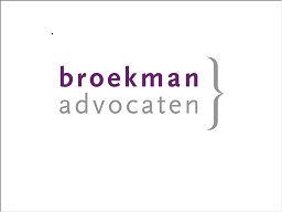 Broekman Advocaten Hilversum